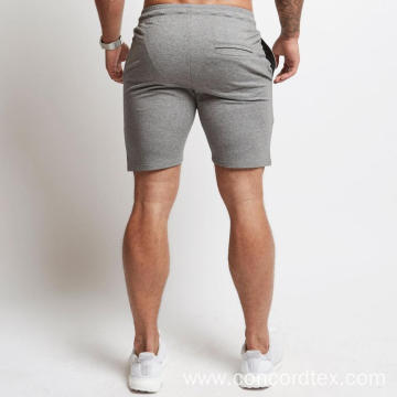 Skinny fit short style mens pants